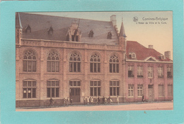 Old Postcard Of Comines, Walloon Region, Belgium,V28. - Altri