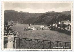 X699 Luino (Varese) - Lago Maggiore - Panorama Con L'imbarcadero - Barche Boats Bateaux / Viaggiata 1951 - Andere Städte