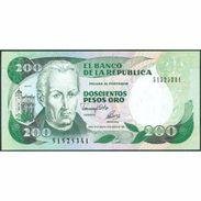 TWN - COLOMBIA 429A - 200 Pesos Oro 10.8.1992 UNC - Colombie