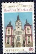 Autriche 2016 Oblitéré Rond Used Sanctuaires D'Europe Basilique De Mariazell SU - 1945-.... 2nd Republic