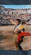 CPSM CORRIDA ARENES DE NIMES GARD CORRIDA DE TOROS ORDONEZ GROS PLAN 1963 - Stierkampf