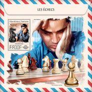 TOGO 2017 - Chess: Anand, Kasparov S/S. Official Issue. - Schaken