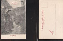 13351) VALLE D'AOSTA CHATILLON PONTE NUOVO SUL MARMOIRE NON VIAGGIATA 1903 CIRCA - Italia