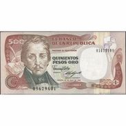 TWN - COLOMBIA 431c - 500 Pesos Oro 20.7.1989 UNC - Colombia