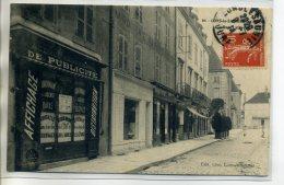 39 LONS Le SAUNIER Carte RARE Devanture Commerce AGENCE HAVAS Oublicité Affichages Rue Lafayette    /D15-S2017 - Lons Le Saunier