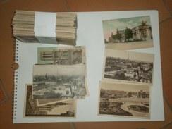 021117 Lot 160 CPA  (avant 1940) PARIS Cartes écrites Et Non Timbrées - Cartes Postales