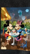 CPM DISNEY DISNEYLAND PARIS MICKEY MINNIE ATTABLES - Disneyland