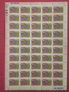South Africa 2000 Sheet Acanthurus Lineatus Fishes Fish Animals Marine Life Sealife Nature Fauna 10c Stamps MNH SG 1206 - Blocs-feuillets