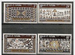 Wallis E Futuna: Motivi Di Tessuti Tapa, Design Of Textile Tapa, Conception De Textile Tapa - Tessili
