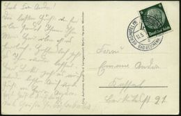 BAD REICHENHALL/ A/ BERGHOTEL PREDIGTSTUHL 1936 (11.5.) Seltener 2K-Steg = Hotel- U. Seilbahnstations-Postamt! Auf S/w.- - Stamps