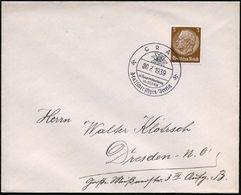 GRAZ/ 65.Hauptversammlung/ Deutscher Alpen-Verein 1939 (30.7.) Seltener, Viol. SSt Vom Finaltag = Edelweiß , Klar Gest.  - Stamps
