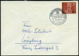 SCHNEEFERNERHAUS (ZUGSPITZE)/ BAYER.ZUGSPITZBAHN 1963 (2.1.) Seltener, Aptierter HWSt (Gipfelkreuz) = Alte PLGZ Entfernt - Stamps
