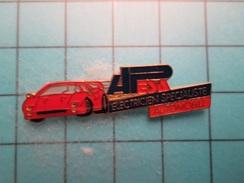 Pin613E Pin's Pins : FERRARI F40 ROUGE APESA ELECTRONICIEN SPECIALISTE AUTOMOBILE   , Marquage Au Dos : ------ - Ferrari