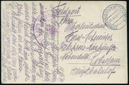 ZÖPPRITZHAUS 1652m (KREUZECKBAHN) 1941 (15.8.) 2K-Steg Ohne Stern = Hauspostamt Seilbahn-Gipfelstation U. Hotel + Viol.  - Stamps
