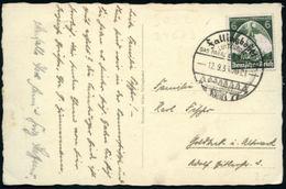 """FALLINGBOSTEL/ Luftkurort/ ...Siebensteinhäuser 1940 (27.9.) HWSt = Dolmengrab """"Siebensteinhäuser"""" , 2x Auf Bedarfs-Kart - Stamps"""