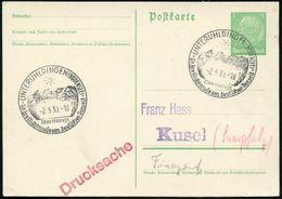 UNTERUHLDINGEN (BODENSEE)/ 2200-1100 V.Zr./ Gr.Freilichtmuseum Deutscher Vorzeit 1939 (2.5.) Gesuchter HWSt = Prähistor. - Stamps