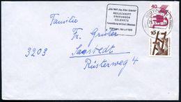 34 GÖTTINGEN 1/ Mf/ ..KEILSCHRIFT/ GRABUNGEN../ Ausstellung.. 1975 (23.6.) MWSt Klar Auf Inl.-Bf. - Stamps