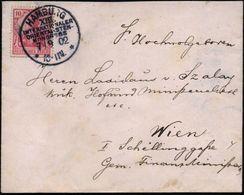 HAMBURG/ XIII./ INTERNATIONALER/ ORIENTALISTEN-/ KONGRESS/ ** 1902 (7.9.) Seltener SSt , Klar Gest., Kleiner Ausl.-Bf. N - Stamps