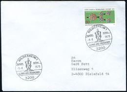 3200 HILDESHEIM/ Sonder-schau/ GÖTTER UND PHARAONEN 1979 (9.8.) SSt = Pharao-Büste , Klar Gest. Inl.-Bf. (Bo.41) - Stamps