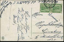 "ÄGYPTEN 1914 (31.5.) 2 M. ""Kleopatra Als Sonnengöttin"" (Tempel V. Dendra, 69 - 30 V. U. Z) , Sauber Gest. Übersee-Kt. N. - Stamps"