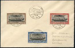 """ÄGYPTEN 1926 (15.12.) """"internat. Schiffahrts-Kongreß"""", Kompl. Satz = Alt-ägypt. Schiffs-Relief, Totentempel Der Königin  - Stamps"""