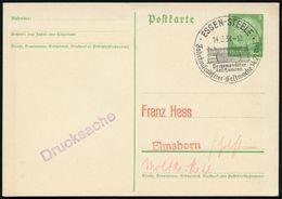 ESSEN-STEELE/ Pergamon-Altar/ Karl Humann/ Jahrtausendfeier-Festwoche 1938 (14.3.) Gesuchter SSt = Pergamon-Altar (auf D - Stamps