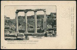 GRIECHENLAND MILITÄRPOST 1919 10 L. BiP Hermes, Rot + 10 L. Hermes Blinddruck: ATHENES - GYMNASE D'ADRIEN (ohne Kontroll - Unclassified