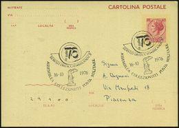 ITALIEN 1976 (16.10.) SSt.: MILANO C.P./ASSEMBLEA COLLEZ. POSTA MILITARE = Nike V. Samothrake, Skulptur Im Louvre, Klar  - Stamps