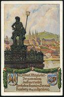 Bamberg 1913 (Apr.) PP 5 Pf. Luitpold, Grün: 18. Ordentl. Mitglieder-Versammlung Des Bayer. Verkehrs-Beamten-Vereins = N - Unclassified