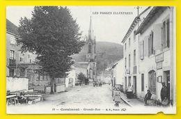 CORNIMONT Grande Rue (B.F) Vosges (88) - Cornimont