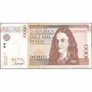 TWN - COLOMBIA 443a5 - 10000 10.000 Pesos Oro 23.7.1998 UNC - Colombia
