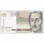 TWN - COLOMBIA 445b - 2000 2.000 Pesos 6.5.1997 UNC - Colombia