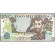 TWN - COLOMBIA 452p - 5000 5.000 Pesos 20.8.2012 UNC - Colombia