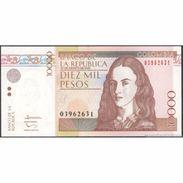 TWN - COLOMBIA 453r - 10000 10.000 Pesos 21.8.2012 UNC - Colombia