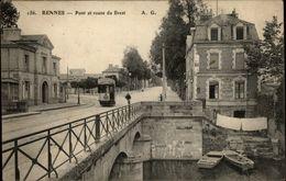 35 - RENNES - Route De Brest - Tramway - Rennes