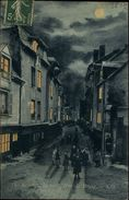 35 - RENNES - Rue De Brest - Effet De Nuit - Rennes