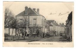 28 EURE ET LOIR - BEVILLE LE COMTE Place De La Mairie - Altri Comuni