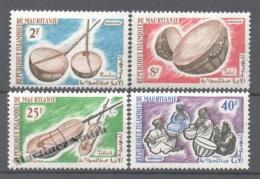 Mauritanie - Mauritania 1965 Yvert 188-91, Music Instruments - MNH - Mauretanien (1960-...)