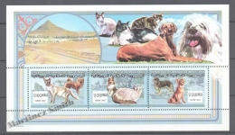 Mauritanie - Mauritania 2000 Yvert 699-01, Fauna. Cats And Dogs - MNH - Mauretanien (1960-...)