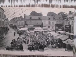 LIANCOURT . PLACE DE LA ROCHEFOUCAULD . LE MARCHE . DOS 1900 - Liancourt