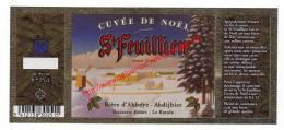 St Feuillien - Cuvée De Noël - Brasserie Friart Le Roeulx - Bier