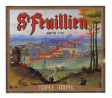 St Feuillien - Triple Tripel - Bier