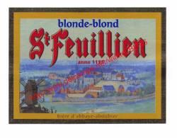 St Feuillien - Blonde Blond - Bier