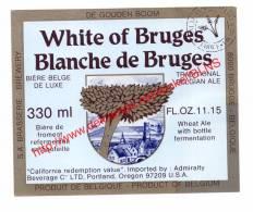 White Of Bruges - Blanche De Bruges - Bier