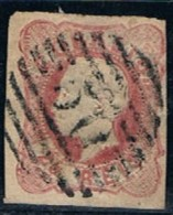 "Portugal, 1862/4, # 16, Carimbo ""50"" - Ponta Delgada, Used - Gebraucht"