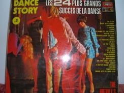 """33 T    Danse  Story  """"  2  Disques  Avec  Les  24  Plus  Grands  Succès  De  La  Danse """" - Compilations"""