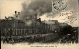 35 - RENNES - Incendie Palais Du Commerce 1911 - Rennes