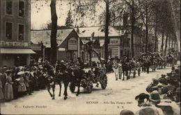 35 - RENNES - Fête Des Fleurs 1907 - Carosserie Emery - Rennes