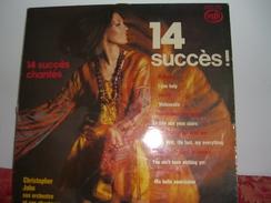 33 T    14  Succès  Chantés  Avec  Christopher  John  , Son  Orchestre  Et  Ses  Chanteurs - Musicals