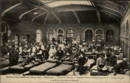 35 - RENNES - école Saint Vincent - Hopital Temporaier N°4 - Soldats - Infirmières - Rennes